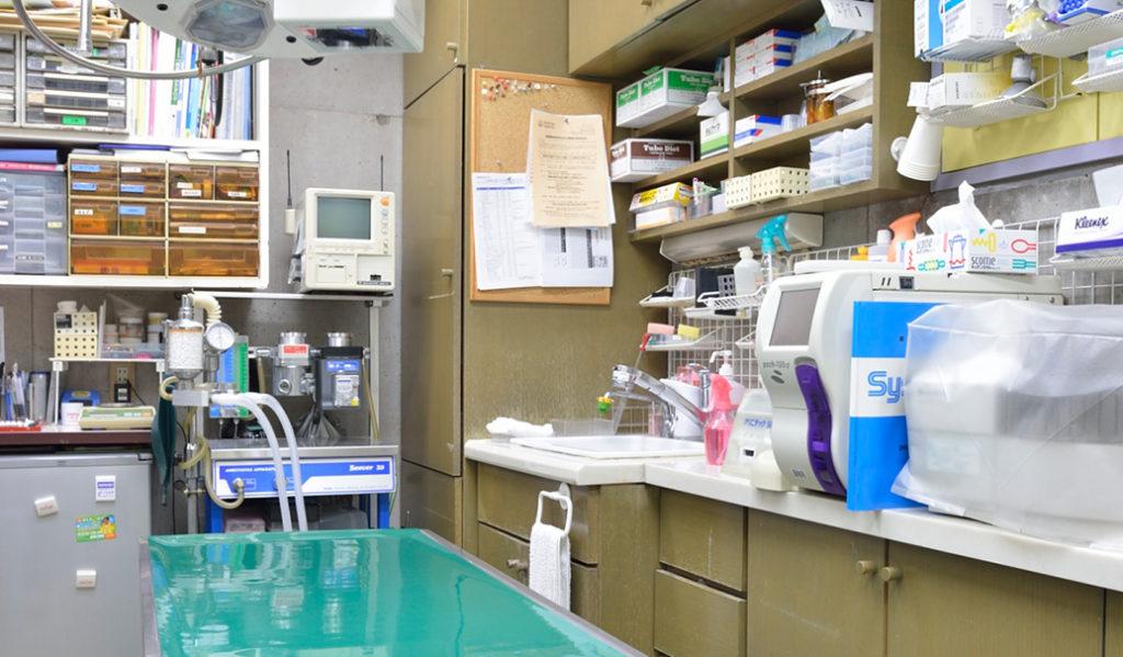 第二診察室兼手術室